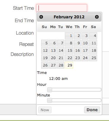 Craig Burke - Google Calendar in Grails – Part 3: Creating